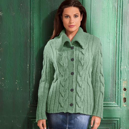 Anleitung 418/7, Damen Jacke aus Peru von Junghans-Wolle