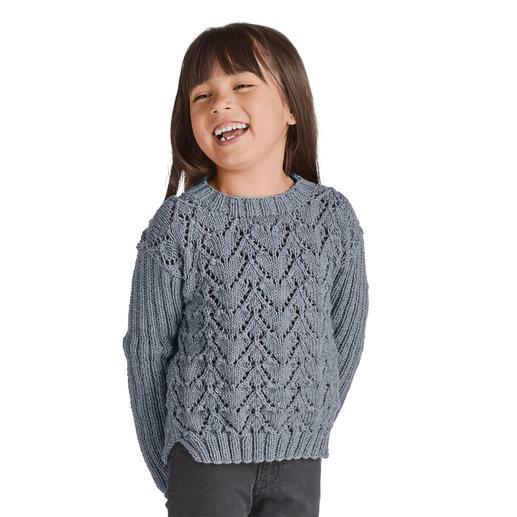 Anleitung 112/8, Pullover aus Merino-Extrafein von Junghans-Wolle