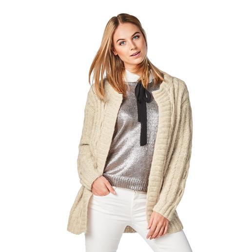 Anleitung 121/8, Damen Jacke aus Alpaca-Cotton von Junghans-Wolle