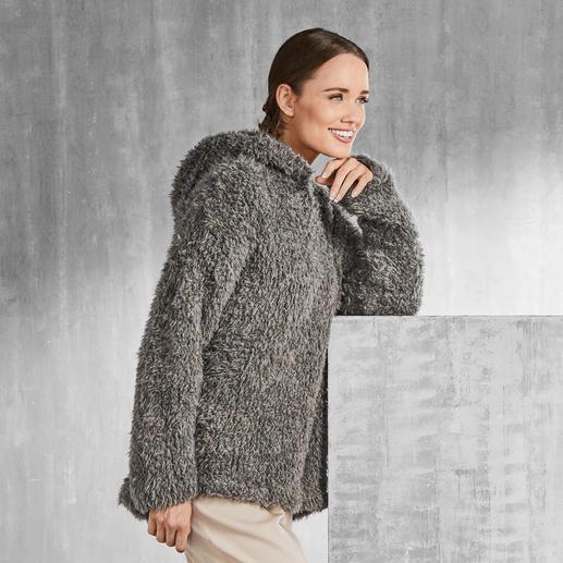 Anleitung 150/8, Kapuzenpullover aus Pellini von Junghans-Wolle