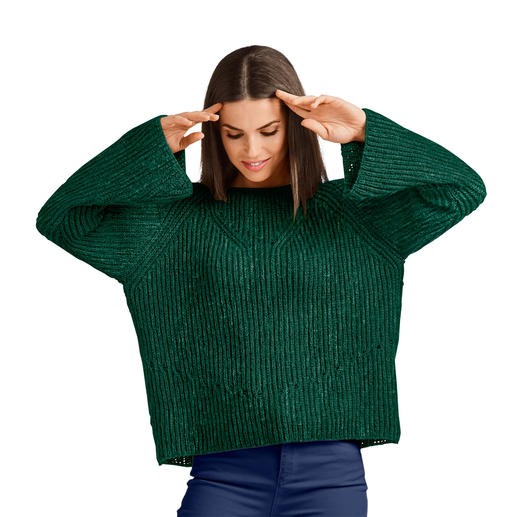 Anleitung 234/8 A, Pullover aus Melina von Junghans-Wolle