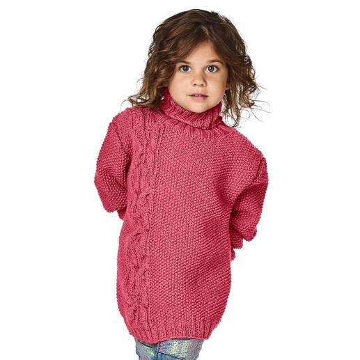 Anleitung 247/8, Pullover aus Merino-Cablé von Junghans-Wolle