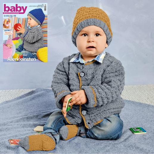 Anleitung 273/8, Jacke mit Mütze & Socken aus Merino-Extrafein von Junghans-Wolle