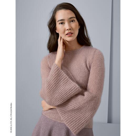 Anleitung 285/8, Pullover aus Mohair Luxe von LANG Yarns