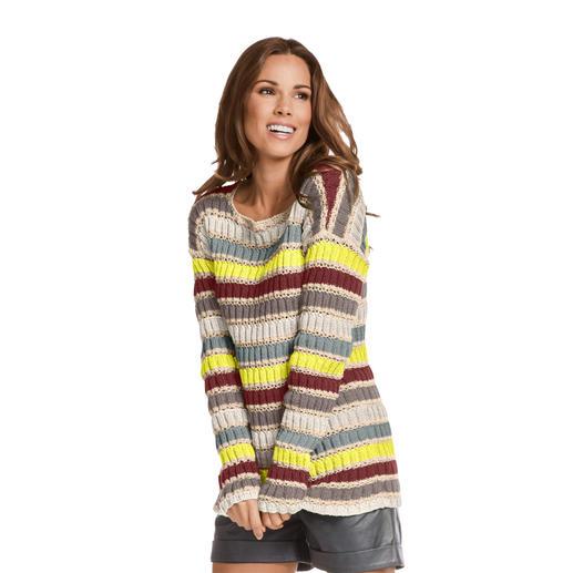 Anleitung 423/8, Pullover 2-fädig aus Seidana® von Junghans-Wolle