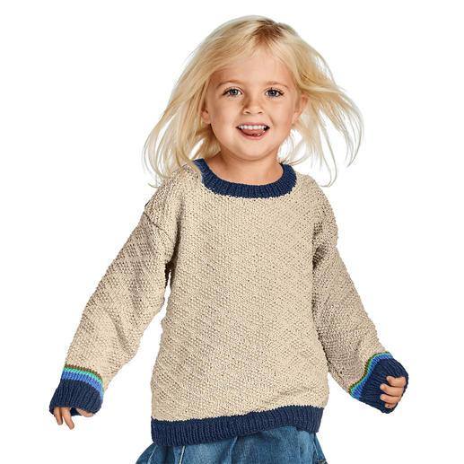 Anleitung 005/9, Pullover aus Cottonprima von Junghans-Wolle