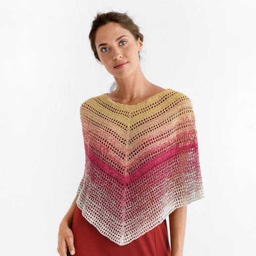 Anleitung 097/9, Poncho Einheitsgröße aus Silk Degradé von Katia