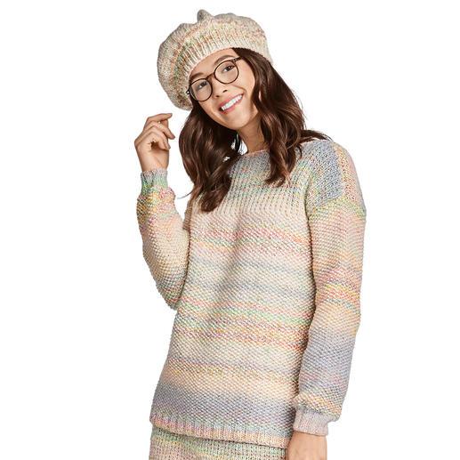 Anleitung 136/9, Pullover aus Monello-90 Color und Monello-175 Color von Junghans-Wolle
