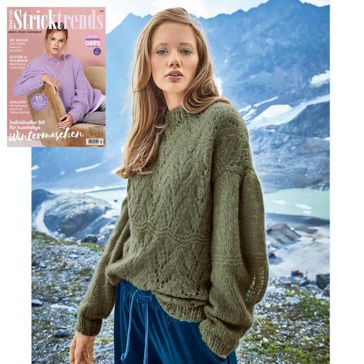 Anleitung 166/9, Pullover aus Aerea von Junghans-Wolle