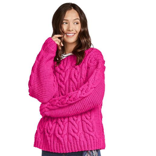 Anleitung 212/9, Pullover aus Monello-90 Uni von Junghans-Wolle