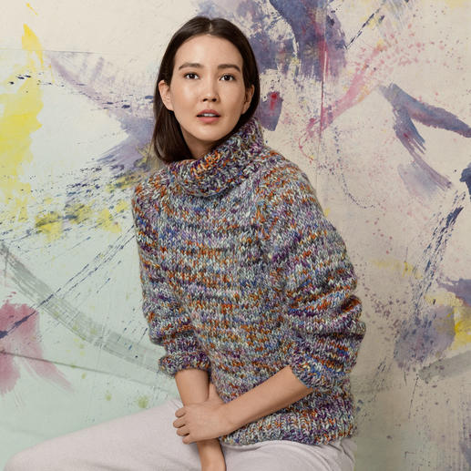 Anleitung 391/9, Pullover aus Lyonel by Lang Yarns