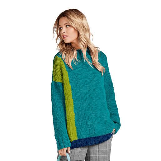 Anleitung 408/9, Pullover aus Canoso von Junghans-Wolle