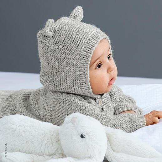 Anleitung 414/9, Baby-Kapuzenjacke aus Phil Laine Cachemire von phildar