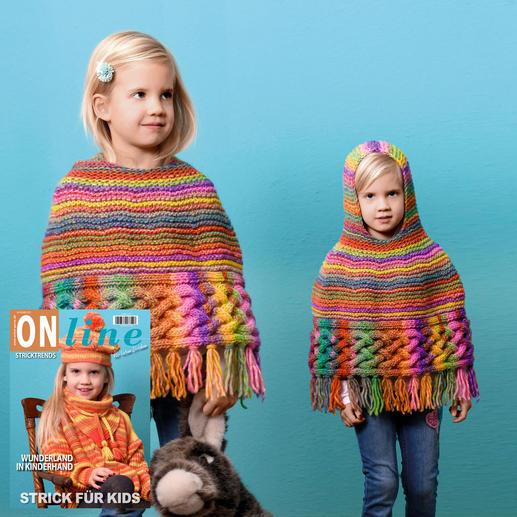 Anleitung 441/9, Kinderponcho aus Linie 359 Fano von ONline