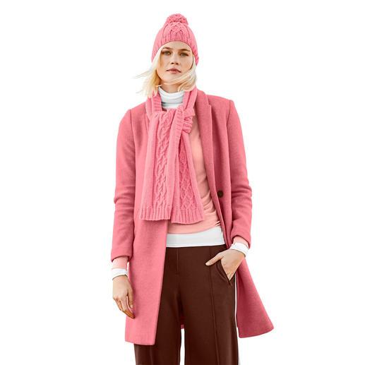 Anleitung 463/9, Mütze und Schal aus Luxury Super 100 Superfine Wool dk von Rico Design