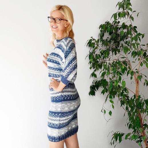 Anleitung 487/9, Kleid aus Fjord von Pro Lana