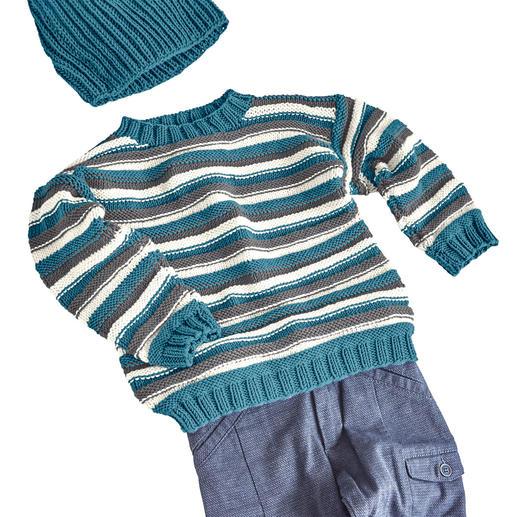Anleitung 131/0, Kinder Pullover aus Merino-Cotton von Junghans-Wolle