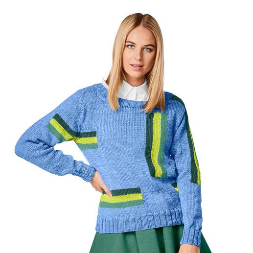 Anleitung 219/0, Pullover aus Merino-Extrafein von Junghans-Wolle