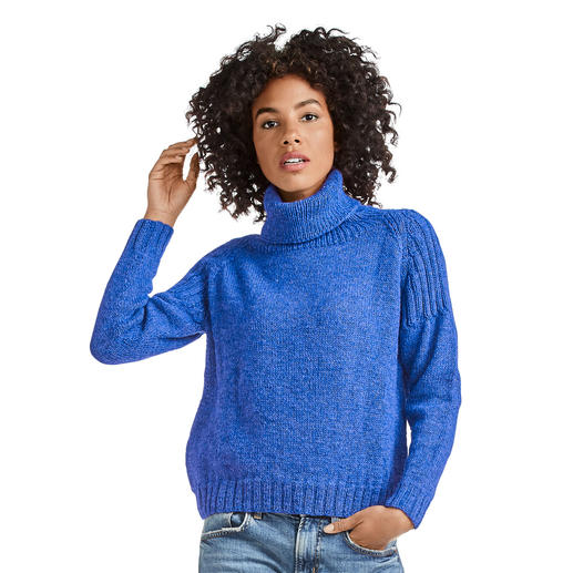 Anleitung 221/0, Pullover aus Muse von Junghans-Wolle