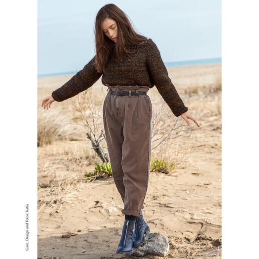 Anleitung 352/0, Pullover aus Edén von Katia