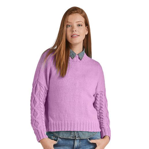 Anleitung 393/0, Pullover aus Inja von Junghans-Wolle