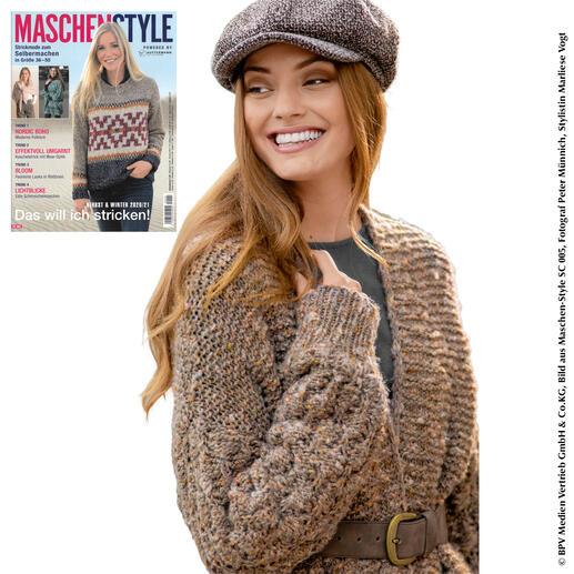 Anleitung 467/0, Jacke aus Nordic Tweed von Austermann®