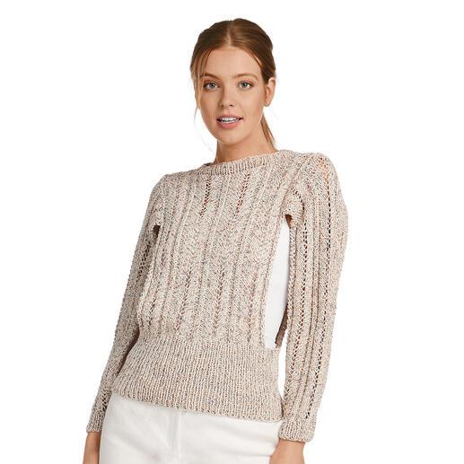 Anleitung 026/1, Pullover aus Oletta von Junghans-Wolle