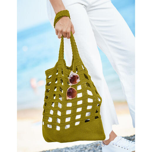 Anleitung 085/1, Tasche aus Essentials Organic Cotton aran von Rico Design