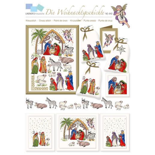Kreuzstich-Zählmuster-Vorlagen - Die Weihnachtsgeschichte