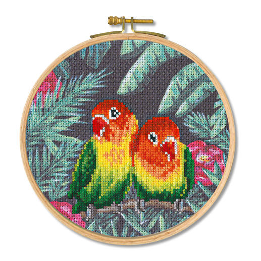 Stickbild - Love Birds