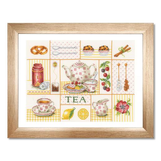 Stickbild - Tea Party