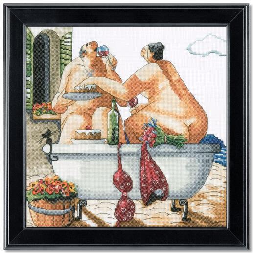 Kreuzstichbild - Bathing Beauties