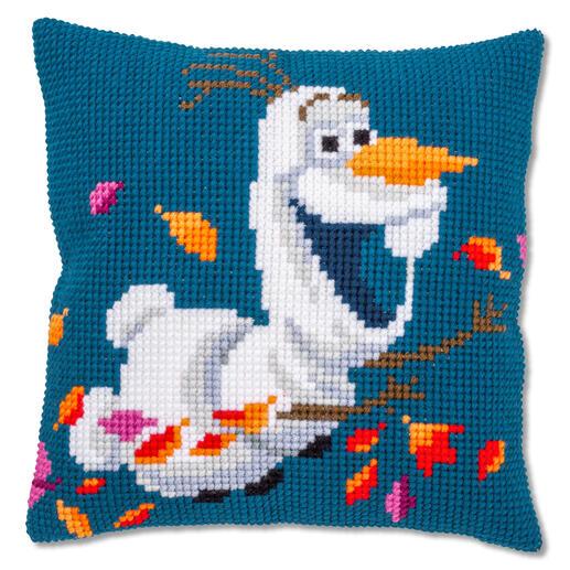 Kreuzstichkissen - Disney Frozen™ II Olaf