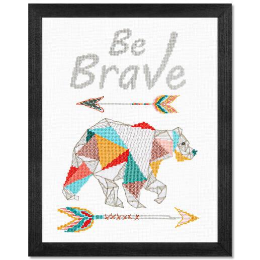 Stickbild - Be Brave