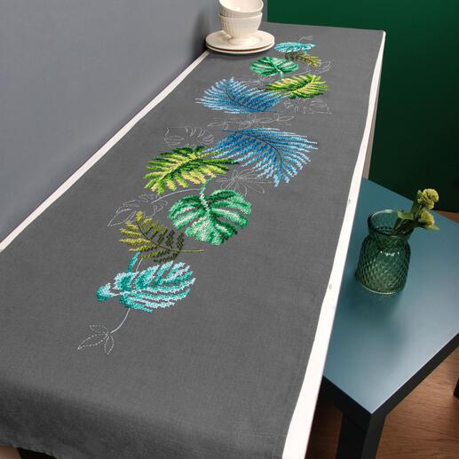 Partnerläufer - Botanische Blätter