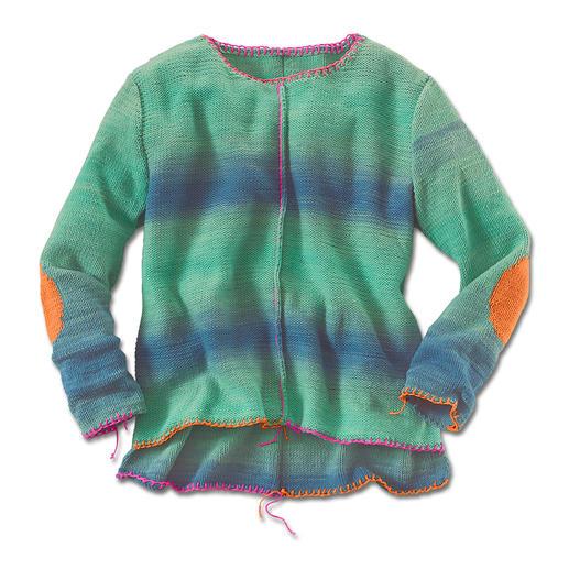 Anleitung 055/6, Pullover aus Pinta von Junghans-Wolle