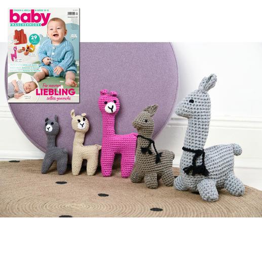 Lamas aus Baby Maschenmode 39/19