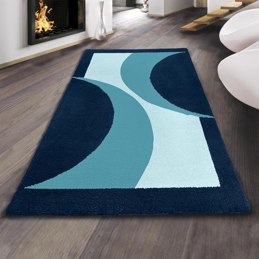 Teppich - Ambiente, blau