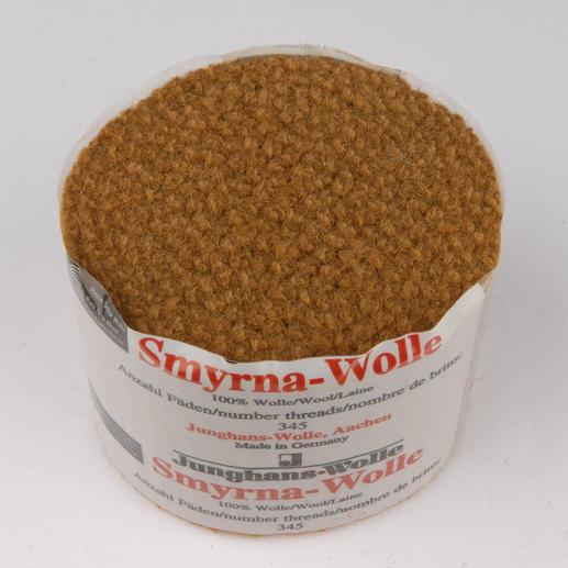 Smyrna-Knüpfpack, 50 g, Bernstein Für Ihre eigenen Entwürfe: hochwertige Junghans-Garne zum Knüpfen