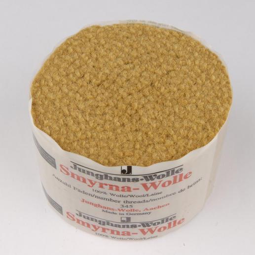 Smyrna-Knüpfpack, 50 g, Bronze Für Ihre eigenen Entwürfe: hochwertige Junghans-Garne zum Knüpfen