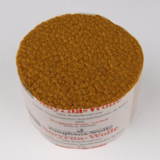 Smyrna-Knüpfpack, 50 g, Goldtopas Für Ihre eigenen Entwürfe: hochwertige Junghans-Garne zum Knüpfen