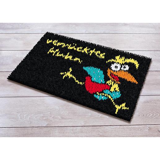 Fußmatte - Verrücktes Huhn