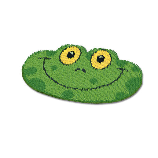 Formteppich - Frosch
