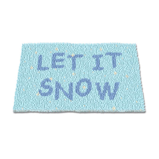 Fußmatte - Let it snow