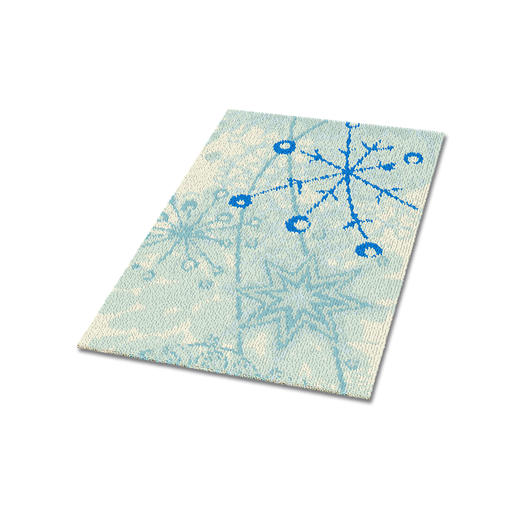 Teppich - Eiskristall
