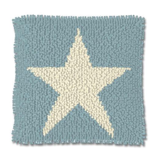 Knüpfkissen - White Star