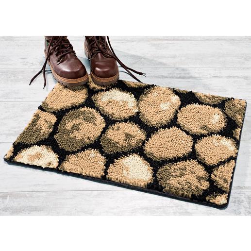 Fußmatte - Kiesel