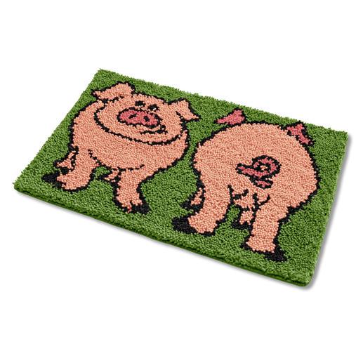 Fußmatte - Schweine