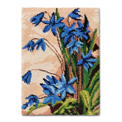 Wandbehang - Glockenblumen