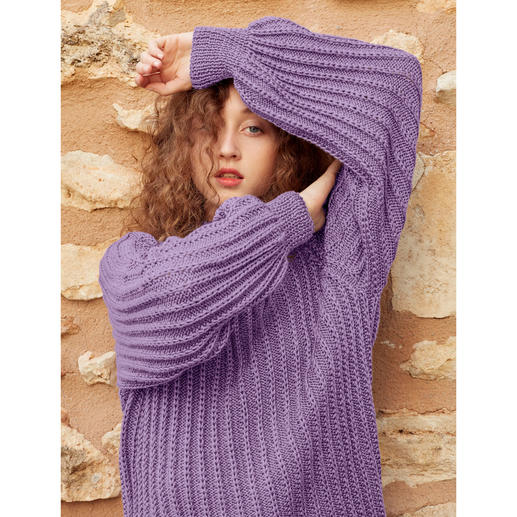 Anleitung 001 Magical Moment, Pullover aus Sunshine von WOOLADDICTS by Lang Yarns